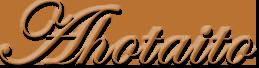 Ahotaito logotype