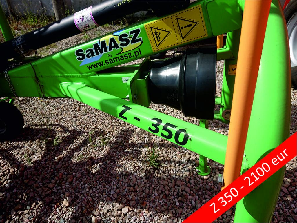 Samasz grėblys Z-350, Laumetris