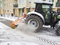 Traktorinė šluota, Laumetris