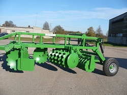 Heavy disc harrow LLA-3, Laumetris
