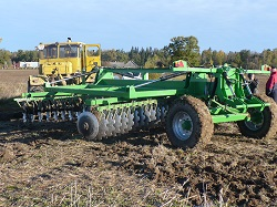 Heavy disc harrow LLA-6, Laumetris