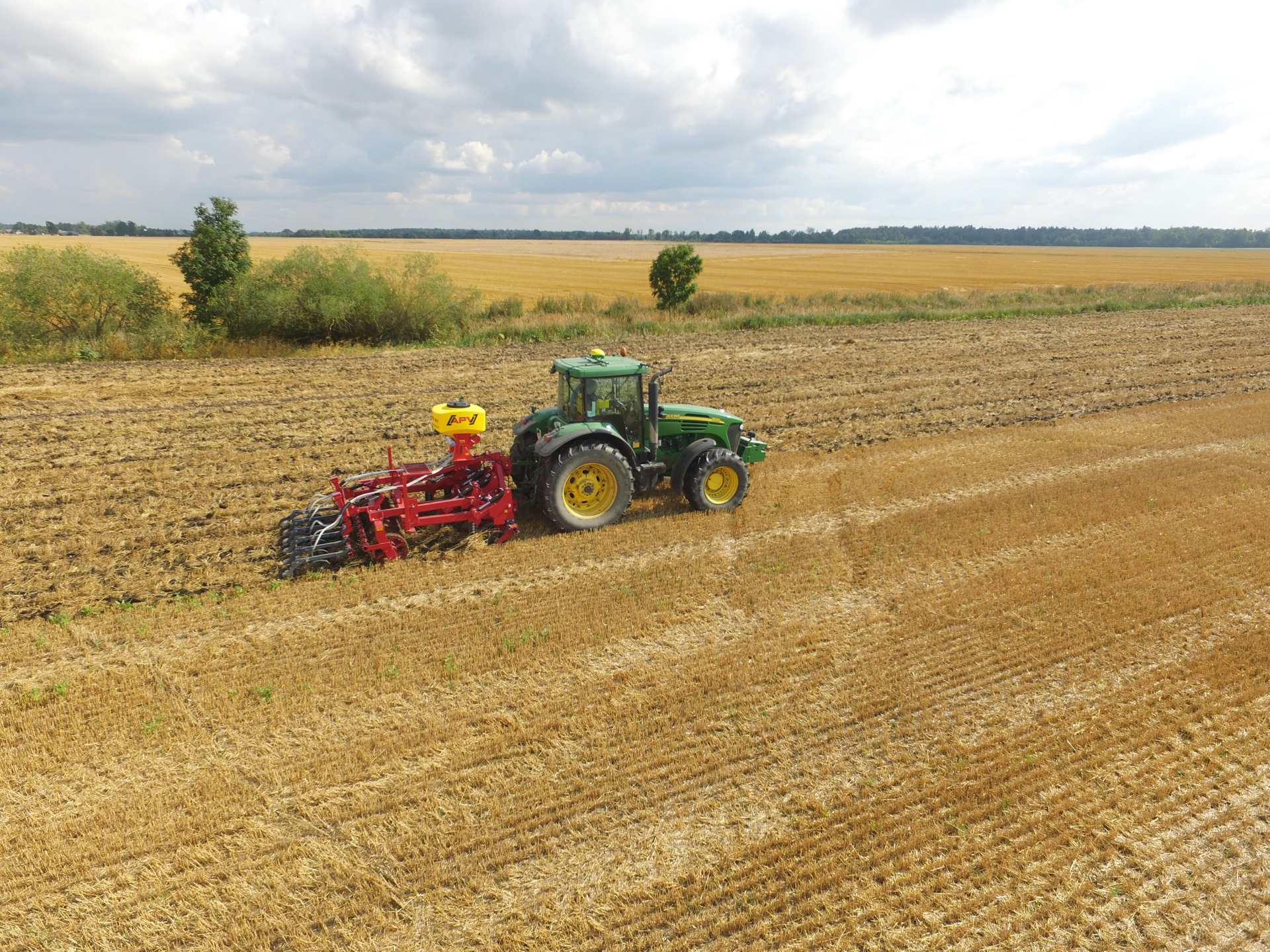 Strip Till Drill / Subsoiler DPL-3 with sowing machine, Laumetris