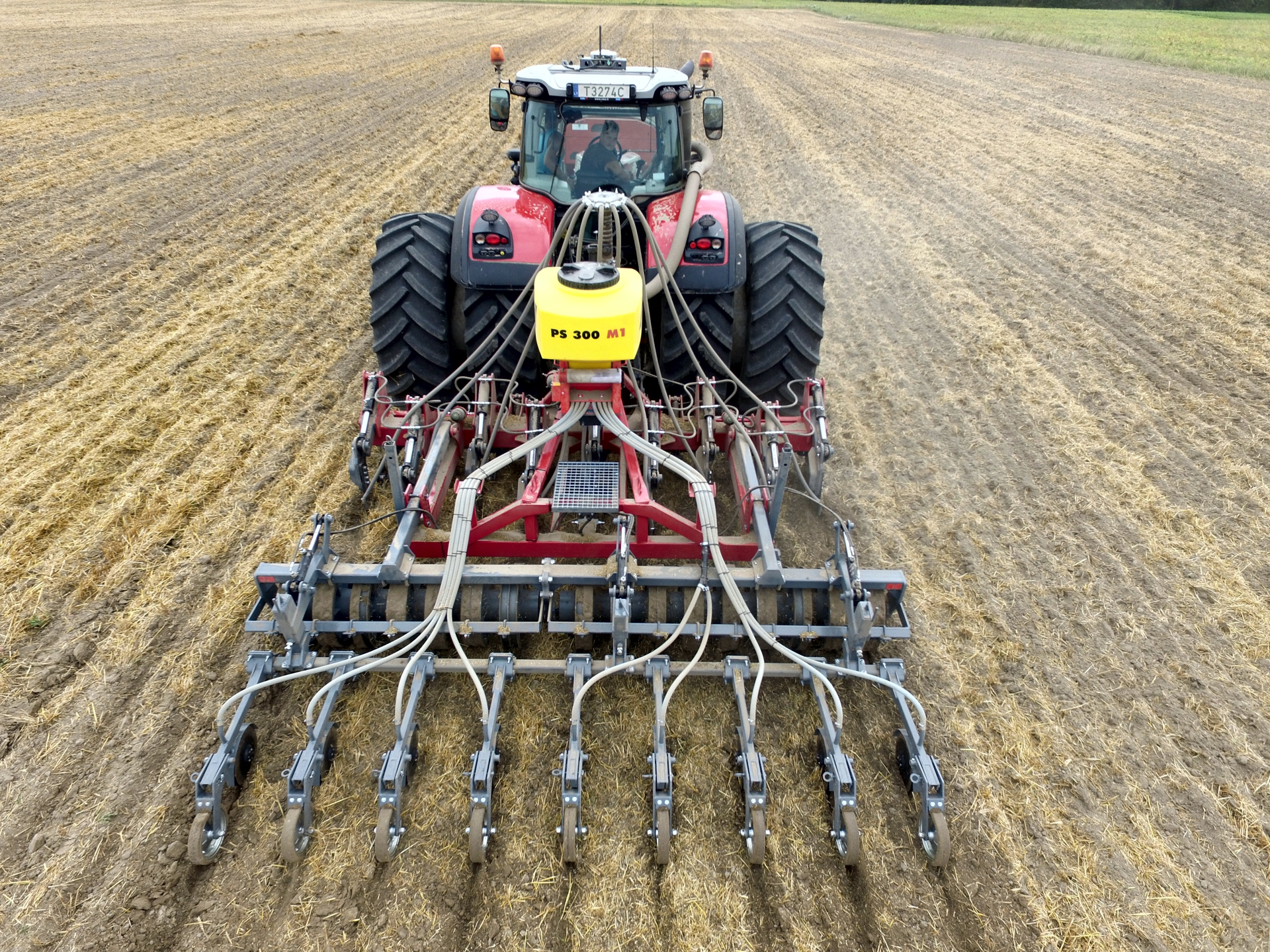 Strip Till Drill / Subsoiler DPL-4 with sowing machine, Laumetris