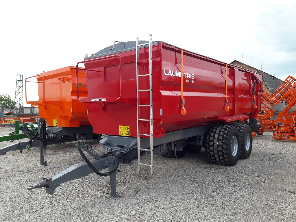 Puoliperävaunut PTL-20, Laumetris