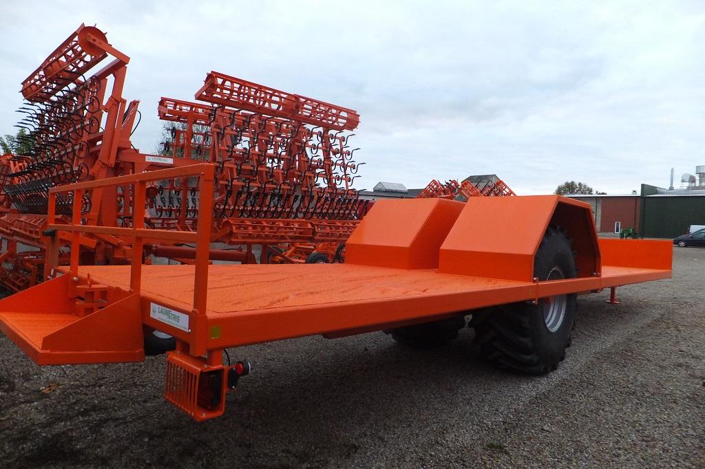 Traktorinė puspriekabė PTL-12R, Laumetris