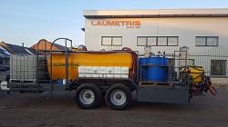 Chemikalų maišytuvas LCM-6, Laumetris
