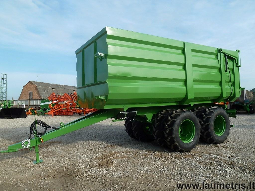 Torv vagnar PTL-30D, Laumetris