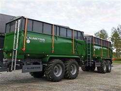 Universali traktorinė puspriekabė PTL-14F, Laumetris