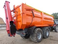 Universali traktorinė puspriekabė PTL-16F, Laumetris