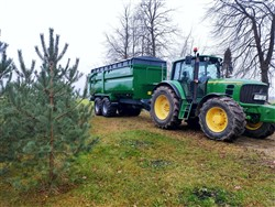 Universali traktorinė puspriekabė PTL-20F, Laumetris