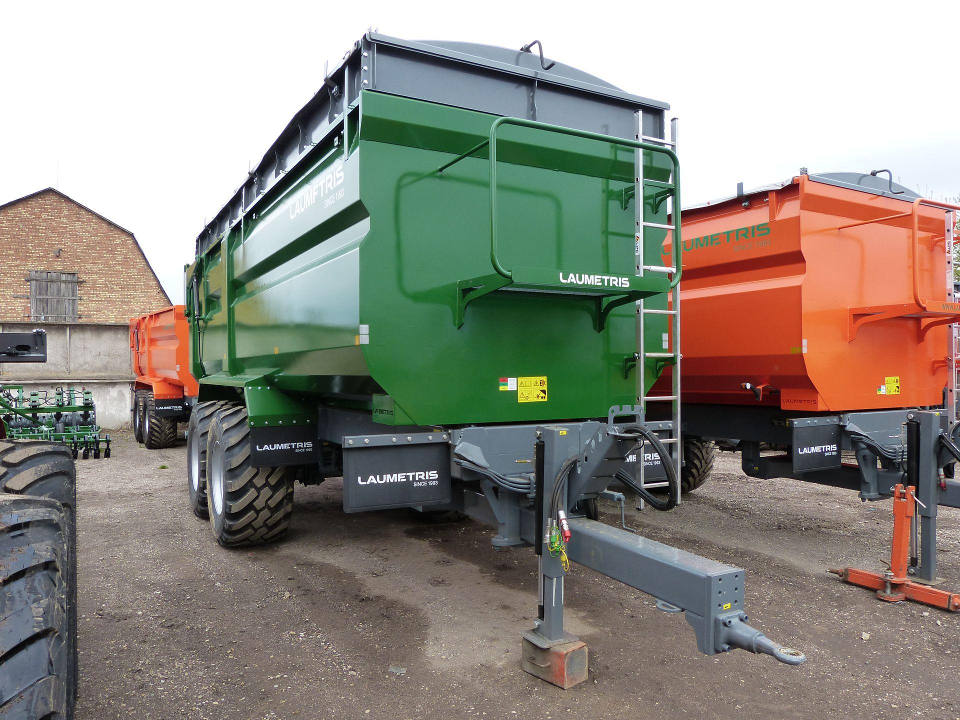 Traktorvagnar Traktorkärror PTL-20F, Laumetris