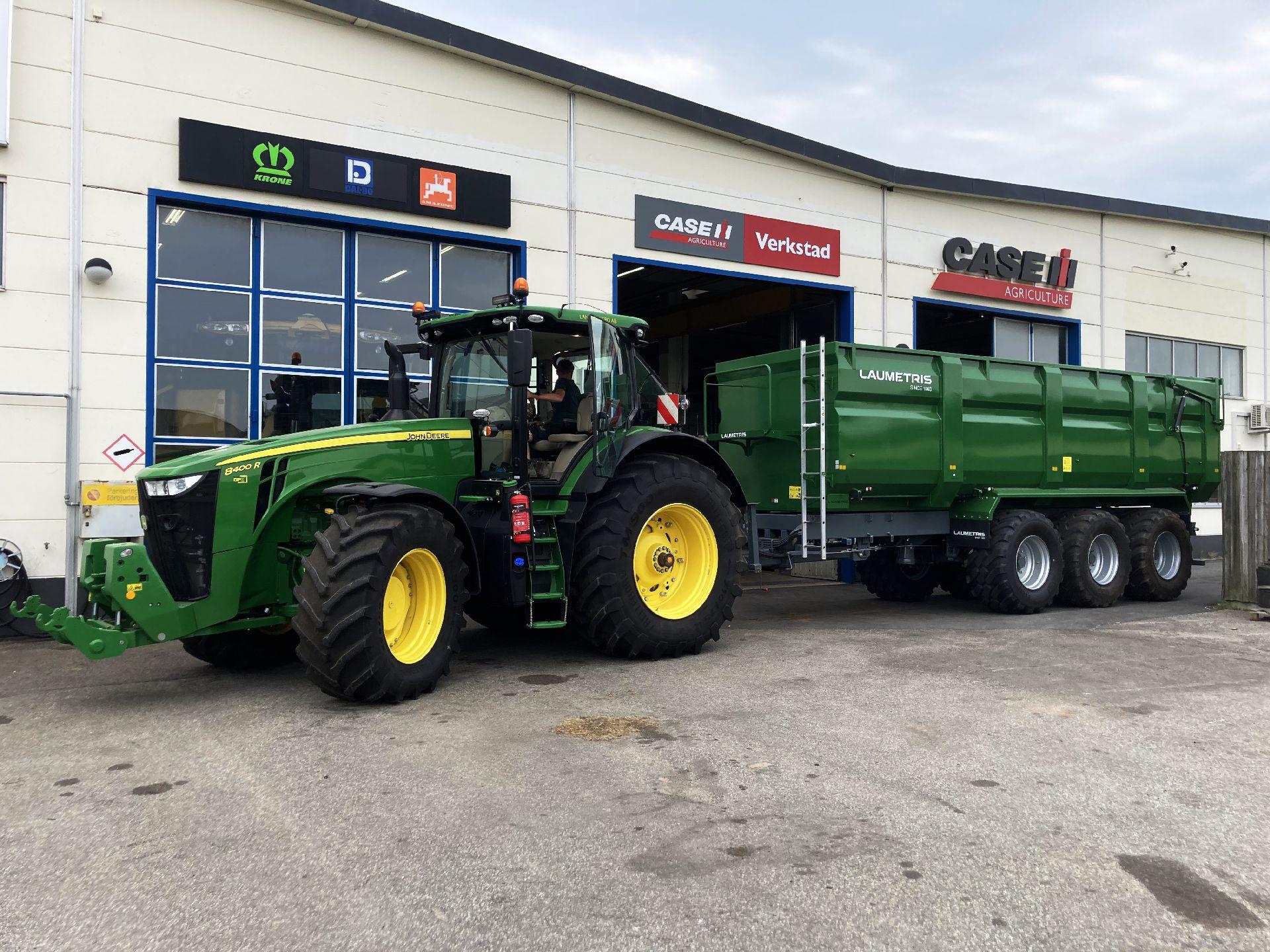 Universali traktorinė puspriekabė PTL-24F, Laumetris