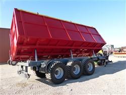 Traktorvagnar Traktorkärror PTL-30F, Laumetris