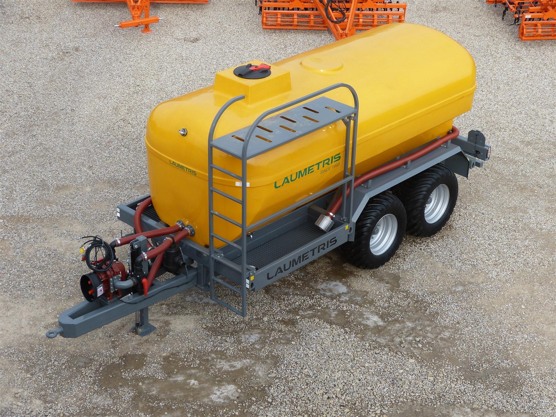 Cisterninė puspriekabė - vandenvežis PTL-12V Laumetris